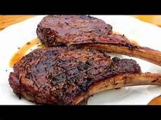 rib eye steak how to grill a tomahawk rib eye steak the wolfe pit