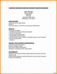 5 resumes for high school graduate ledger review