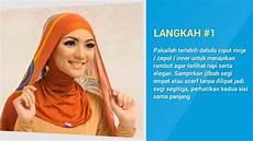 Tutorial Memakai Jilbab Segi Empat Ala Citra Kirana