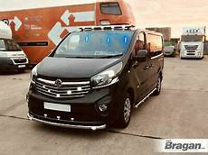to fit 2014 2019 opel vauxhall vivaro chrome front roof