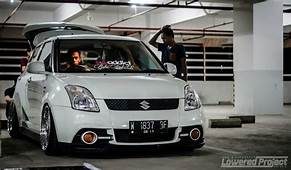 LoweredProject Stanced Suzuki Swift  RIDES Pinterest