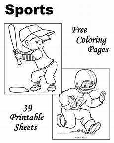 sports coloring sheets printable 17811 sports to color