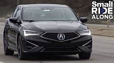 2019 acura ilx a spec ride along review test drive