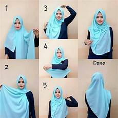 Cara Memakai Jilbab Pashmina Hijabtuts