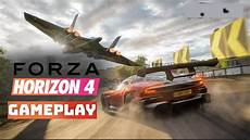 forza horizon 4 mit lenkrad gameplay german