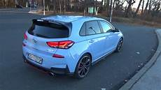 hyundai i30n performance exhaust sound pops and