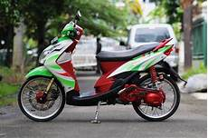 Modifikasi Motor Mio Sporty Simple by Modifikasi Yamaha Mio Sporty Mio Matic Terkeren Simple Acre