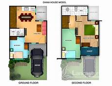 model home design plans 90 small double story diana house model is a 60 sqm townhouse on a 50 sqm lot