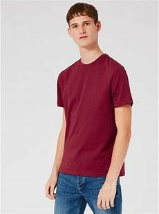 burgundy slim fit t shirt multi buy deals sale topman