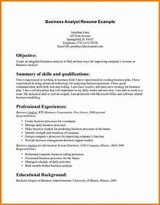 9 business resume objective professional resume list