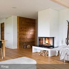 Offener Kamin Im Rustikalen Wohnzimmer In 2019 Kamin