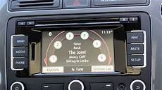 how to use your ipod with the vw rns 315 stereo