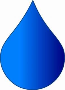 Blue Drop Clip At Clker Vector Clip
