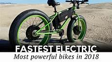 Top 10 Fastest Electric Bicycles With Motorbike Speeds