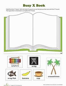 x book worksheet education com