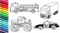 coloring pages for vehicles 16432 vehicles collection drawing and coloring for car truck tractor color pages
