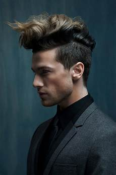 wavy quiff for men how to style this non boring holiday hairstyle