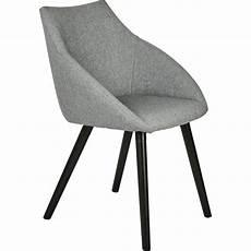 chaise en tissu gris chaise en tissu gris borie avec accoudoirs noelie
