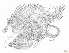 sea serpent coloring page free printable coloring