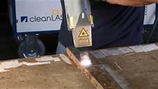 Entrosten Stahl Mit Laser