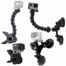 Adjustable Suction Mount Joints Goose Neck by Suction Cup Car Mount Holder With 360 Degree Mount Jaws