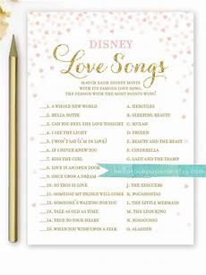 10 Printable Bridal Shower Games You Can Diy Disney