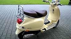 vespa lxv 50 11 roller scooter beige siena 2011