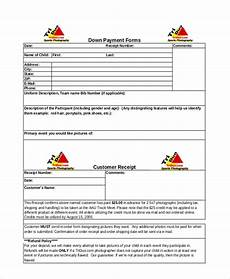 free 8 sle payment receipt forms in ms word pdf ms excel