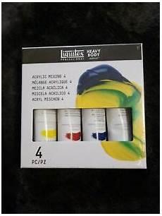 liquitex professional heavy acrylic paint mixing 4 2oz 887452997436 ebay