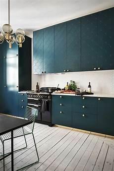 1001 id 233 es pour une cuisine bleu canard les int 233 rieurs
