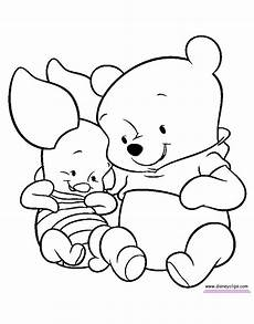 baby pooh coloring pages 2 disney coloring book