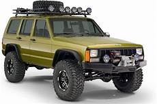 Bushwacker 10922 07 Flat Style Flares For 84 01 Jeep