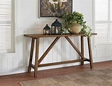 console deco dorel bennington rustic console table