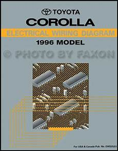 wiring diagram toyota corolla 1996 1996 toyota corolla wiring diagram manual original
