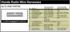 honda civic stereo wiring color the world s catalog of ideas