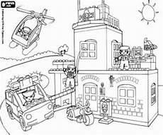 Ausmalbilder Polizeistation Der Polizeistation Lego Ausmalbilder 824 Malvorlage