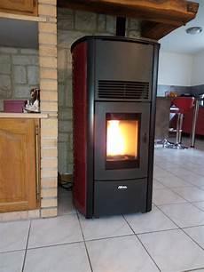 Installation D Un Po 234 Le 224 Granule Fonte Flamme Alti En