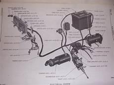 1966 Dodge Wm300 4 X 4 Truck Starter Wiring Rod