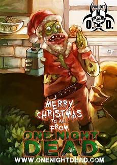 happy holidays from one dead one dead