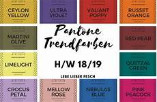 Pantone Trendfarben Herbst Winter 2018 2019 Winterfarben