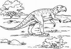 dinosaurier mit schnabel ausmalbild malvorlage dinosaurier