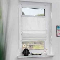 Fenster Ohne Gardinen - raffrollo klemmfix top ohne bohren verspannt