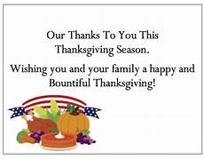 thanksgiving gift card template business thanksgiving cards of appreciation