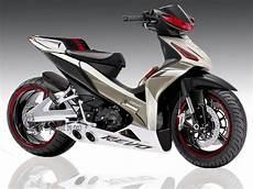 Variasi Motor Revo 110 by 6 Variasi Modifikasi Motor Honda Absolute Revo Variasi