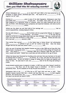 william shakespeare worksheet free esl printable worksheets made by teachers