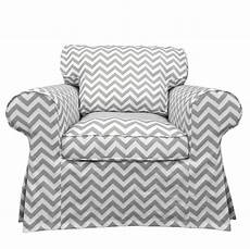 custom ikea slipcovers custom ikea ektorp armchair slipcover in gray chevron