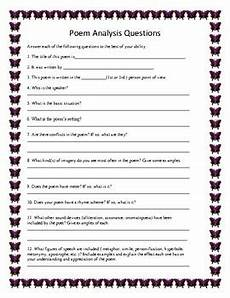 poetry analysis worksheet for the road not taken 25514 poem analysis the road not taken by robert grade 6 9 tpt