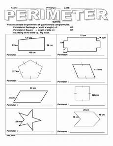 ks2 perimeter of different shapes by jinkydabon teaching