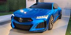 snapshots acura type s concept debut in monterey acura connected