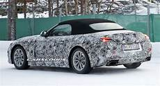 2018 Bmw Z5 Drops More Camo Taillights Become Visible